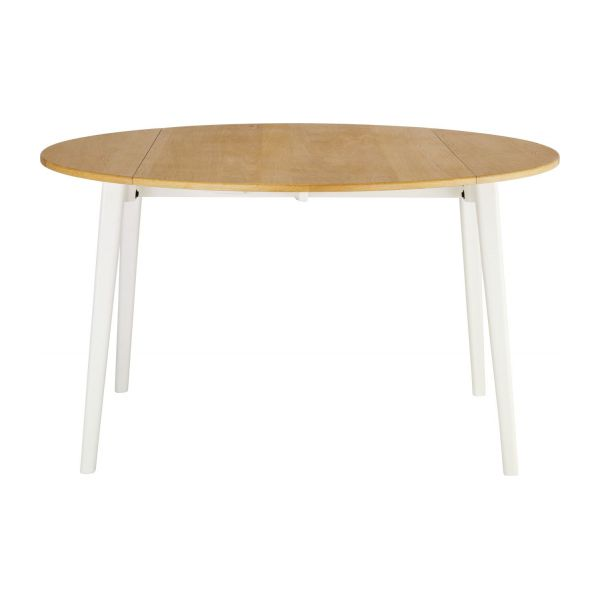 Harrison table de salle manger extensible habitat for Table salle manger habitat