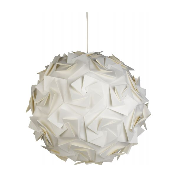 Aperture ceiling light fitting white wood wax habitat paper pendant lamp n1 mozeypictures Images
