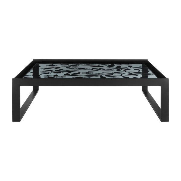 Harris table basse en verre tremp habitat - Table basse en verre trempe ...