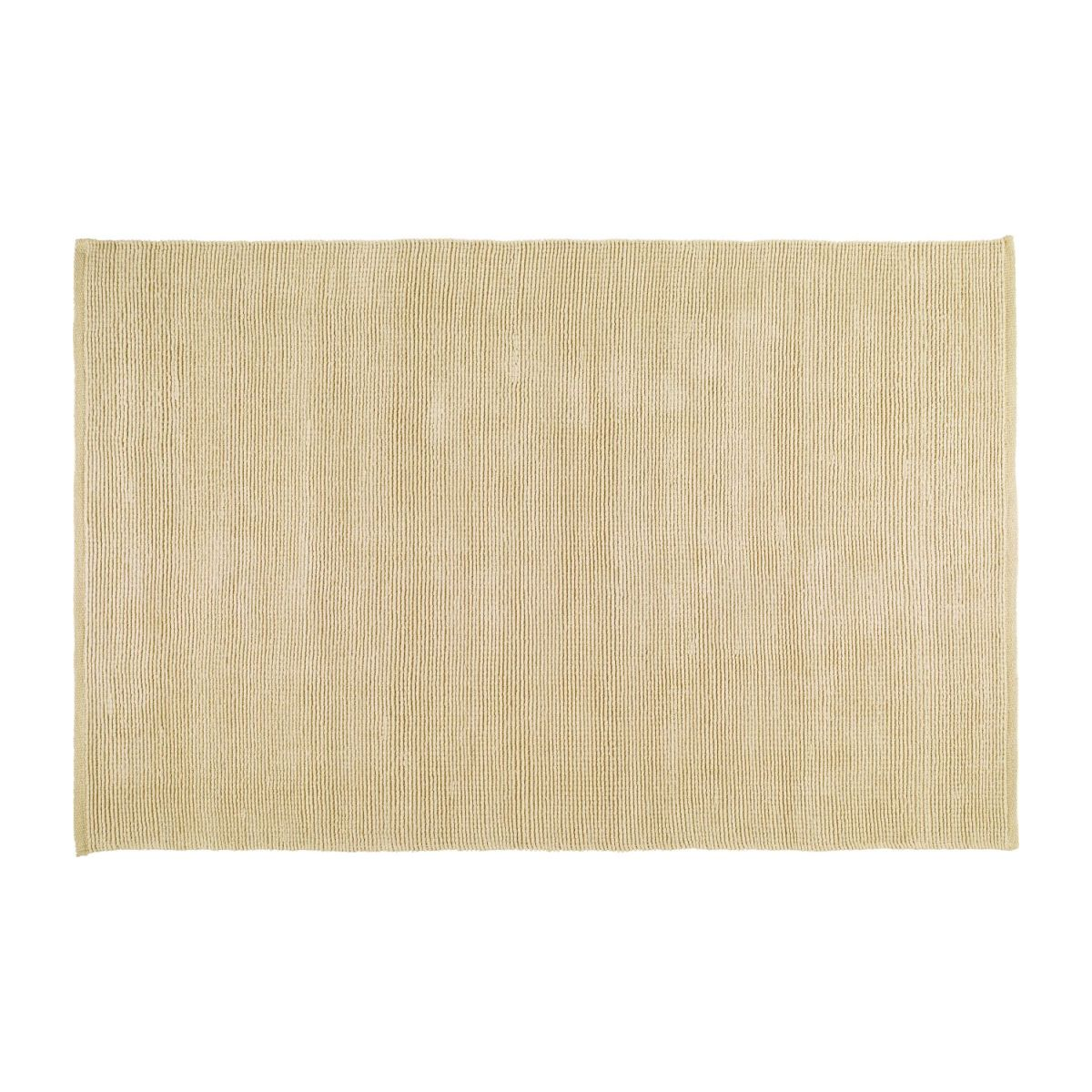Large textured cotton rug n°2