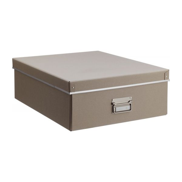 Kraft bo tes marron carton habitat for Boites de rangement decoratives