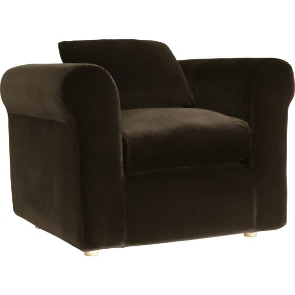 louis fauteuil en velours par habitat chez habitat fr. Black Bedroom Furniture Sets. Home Design Ideas