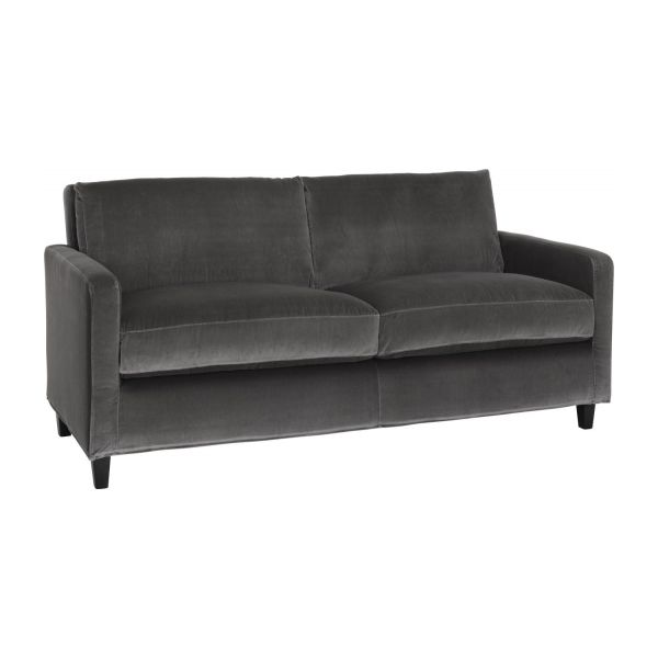 chester 2 sitzer sofa aus samt habitat. Black Bedroom Furniture Sets. Home Design Ideas