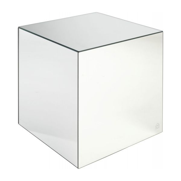 sparkle table d 39 appoint en miroir habitat