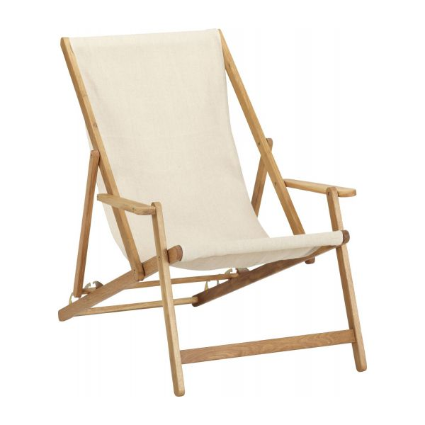 Oak lounger structure n°1