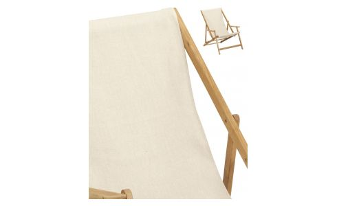Lounge chair canvas