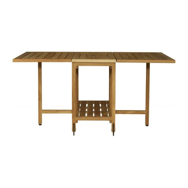 Zeno conjunto mesa plegable y 4 sillas habitat for Mesa plegable 4 sillas