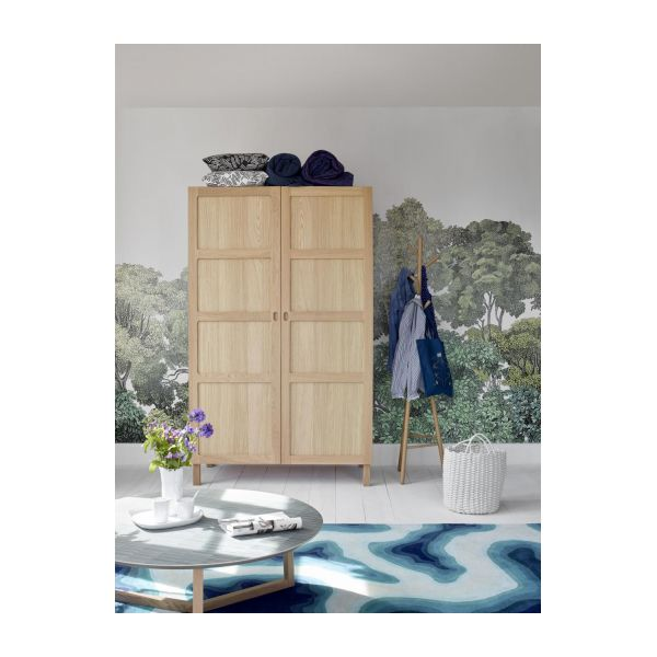 2 door oak wardrobe n°5