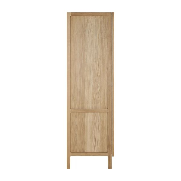 2 door oak wardrobe n°4