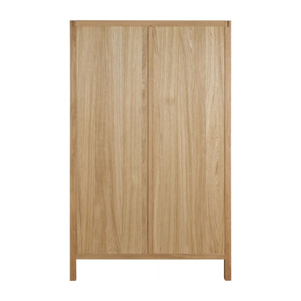 2 door oak wardrobe n°3