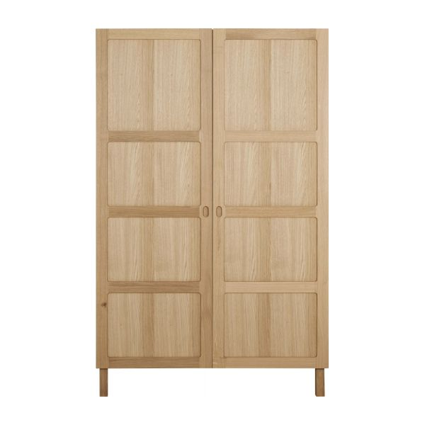 2 door oak wardrobe n°2