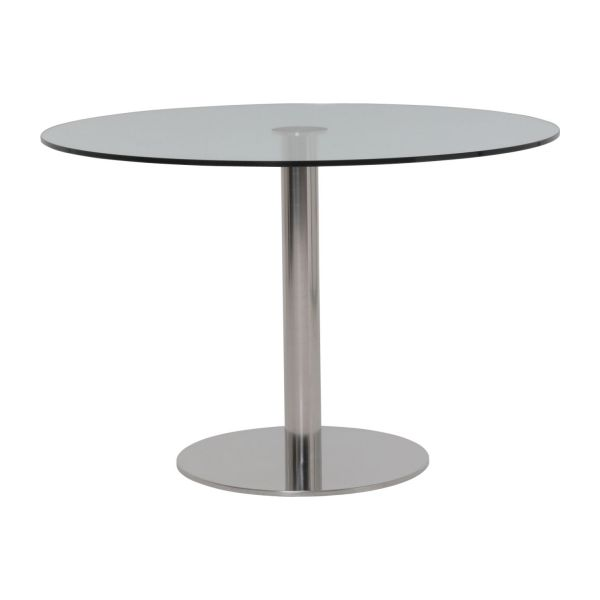 Umi table de salle manger en verre tremp habitat - Table a manger en verre trempe ...