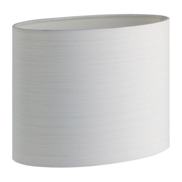 Perfect White Oval Lampshade