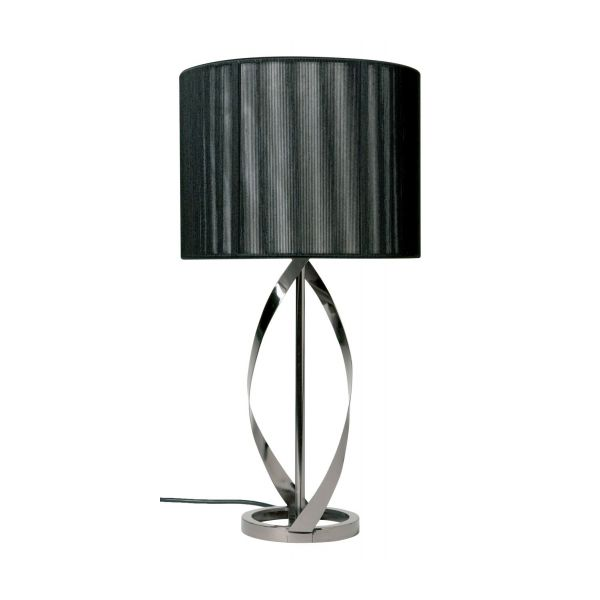 helix lamp bases chrome metal habitat. Black Bedroom Furniture Sets. Home Design Ideas