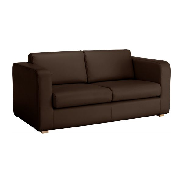 porto 2 sitzer schlafsofa aus leder habitat. Black Bedroom Furniture Sets. Home Design Ideas