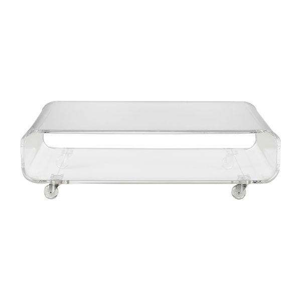 Allegro tables basses transparent acrylique habitat - Table basse acrylique ...