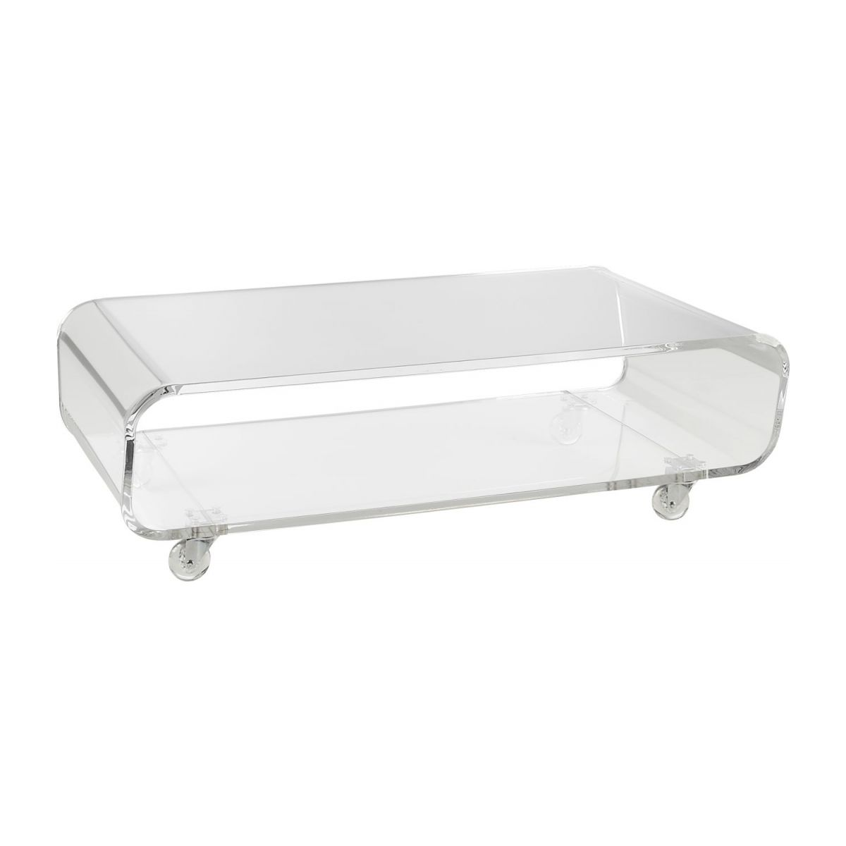 Allegro Tables Basses Transparent Acrylique Habitat