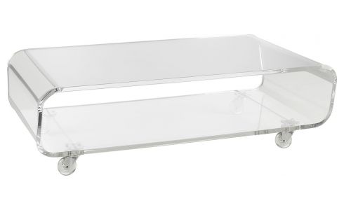 Transparent low table