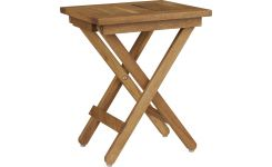 solid oak folding stool