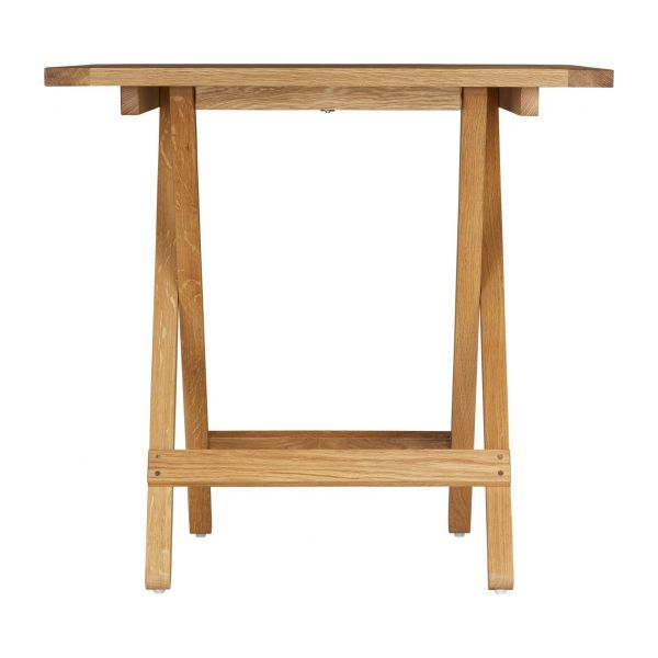 oiled solid oak folding table n°5
