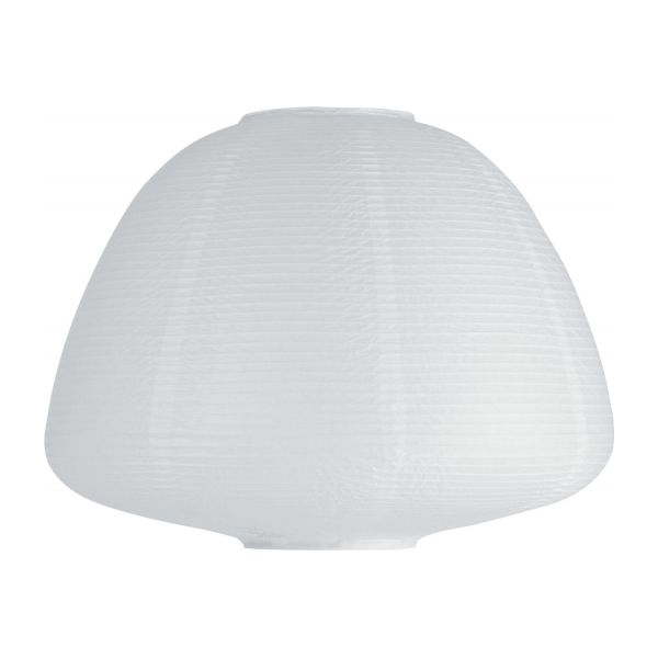 Shiro table lamps white wood wax habitat paper table lamp mozeypictures Images