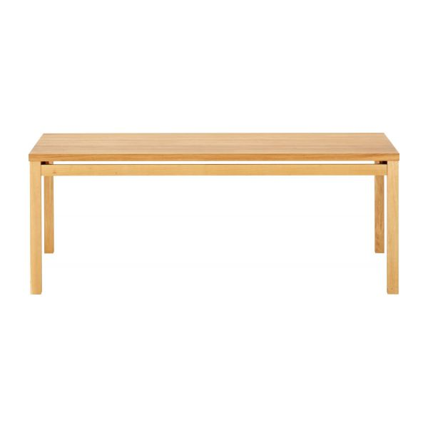Massello tables de salle manger naturel bois habitat for Table de salle a manger habitat