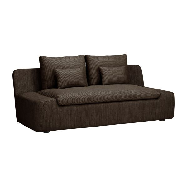 Incroyable 2 Seat Fabric Sofa N°1