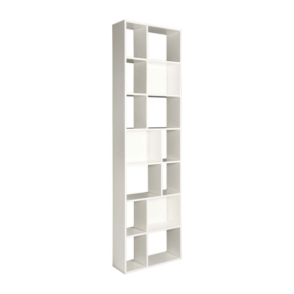 cleo shelves and bookcases white wood lacquered habitat. Black Bedroom Furniture Sets. Home Design Ideas