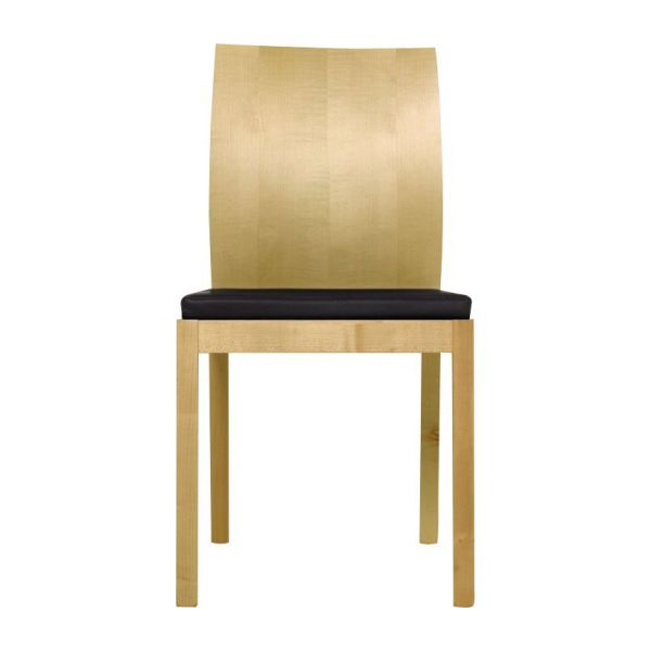 chair with brown seat cover n°2