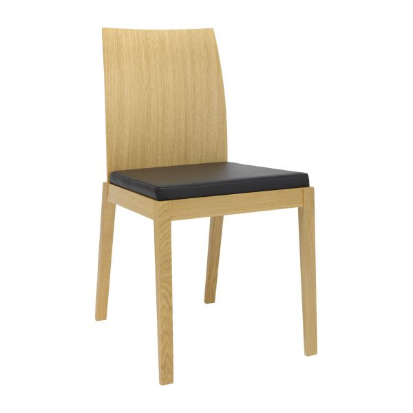 chair with brown seat cover n°1