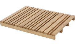 slatted bath mat