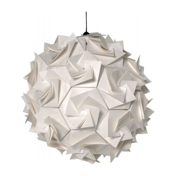 Small paper pendant lamp n1