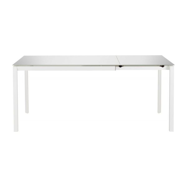 rio tables de salle manger blanc verre m tal habitat. Black Bedroom Furniture Sets. Home Design Ideas