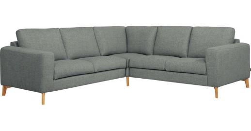 bosa canap dangle 4 places en tissu gris chin bleu confort mdium habitat