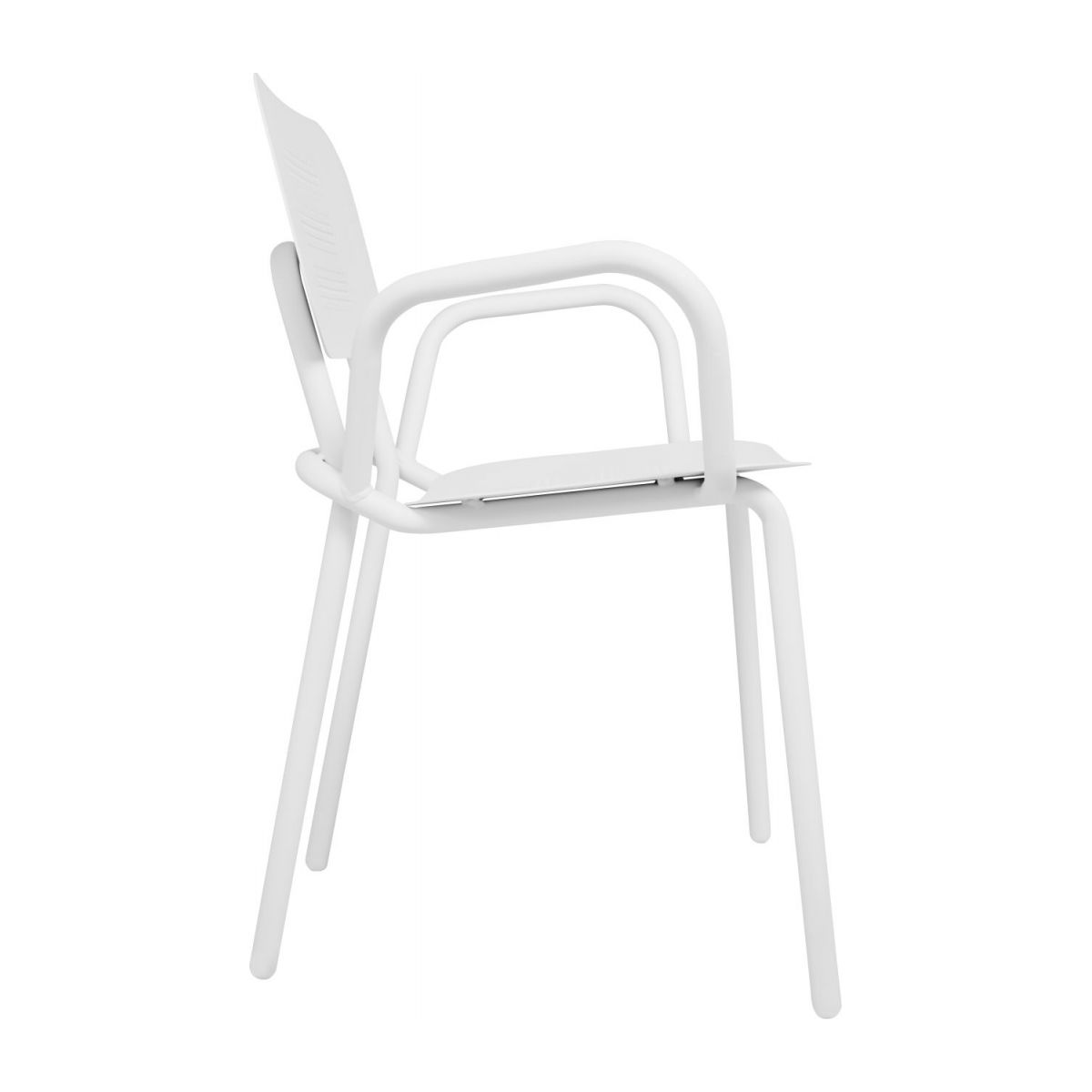 Garden chair with armrests n°6