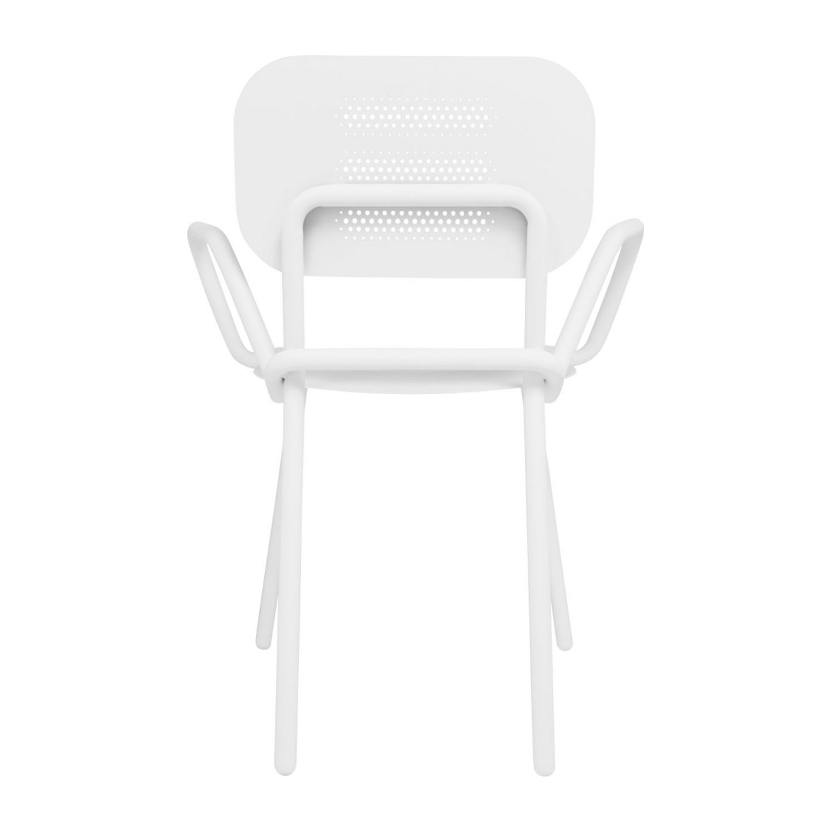 Garden chair with armrests n°5
