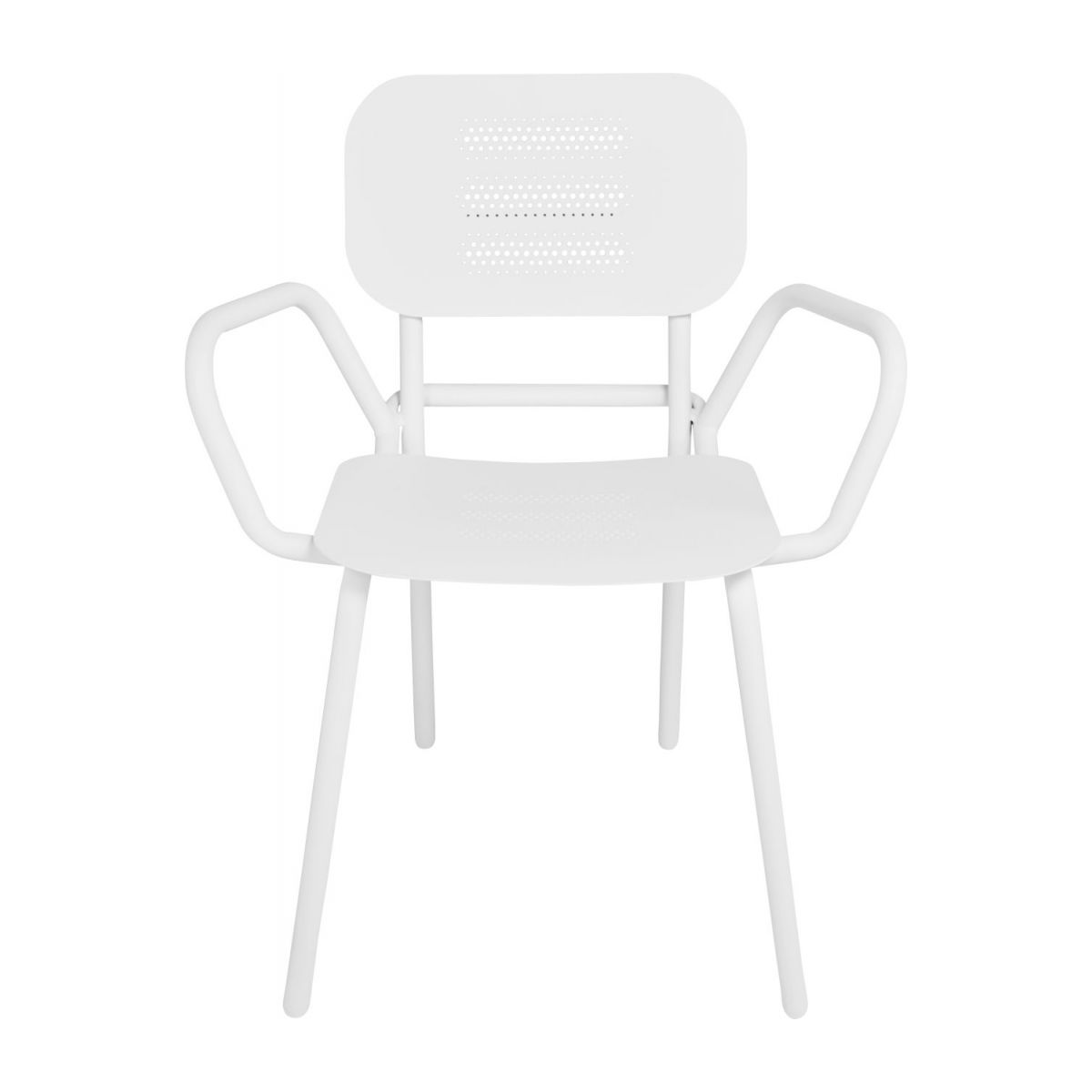 Garden chair with armrests n°3