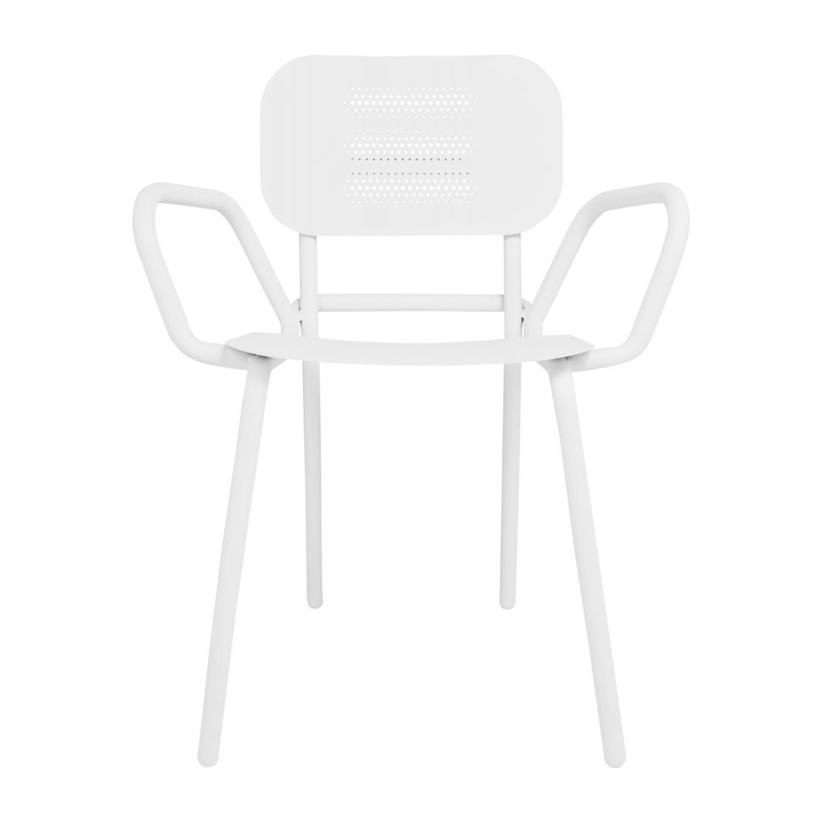 Garden chair with armrests n°4