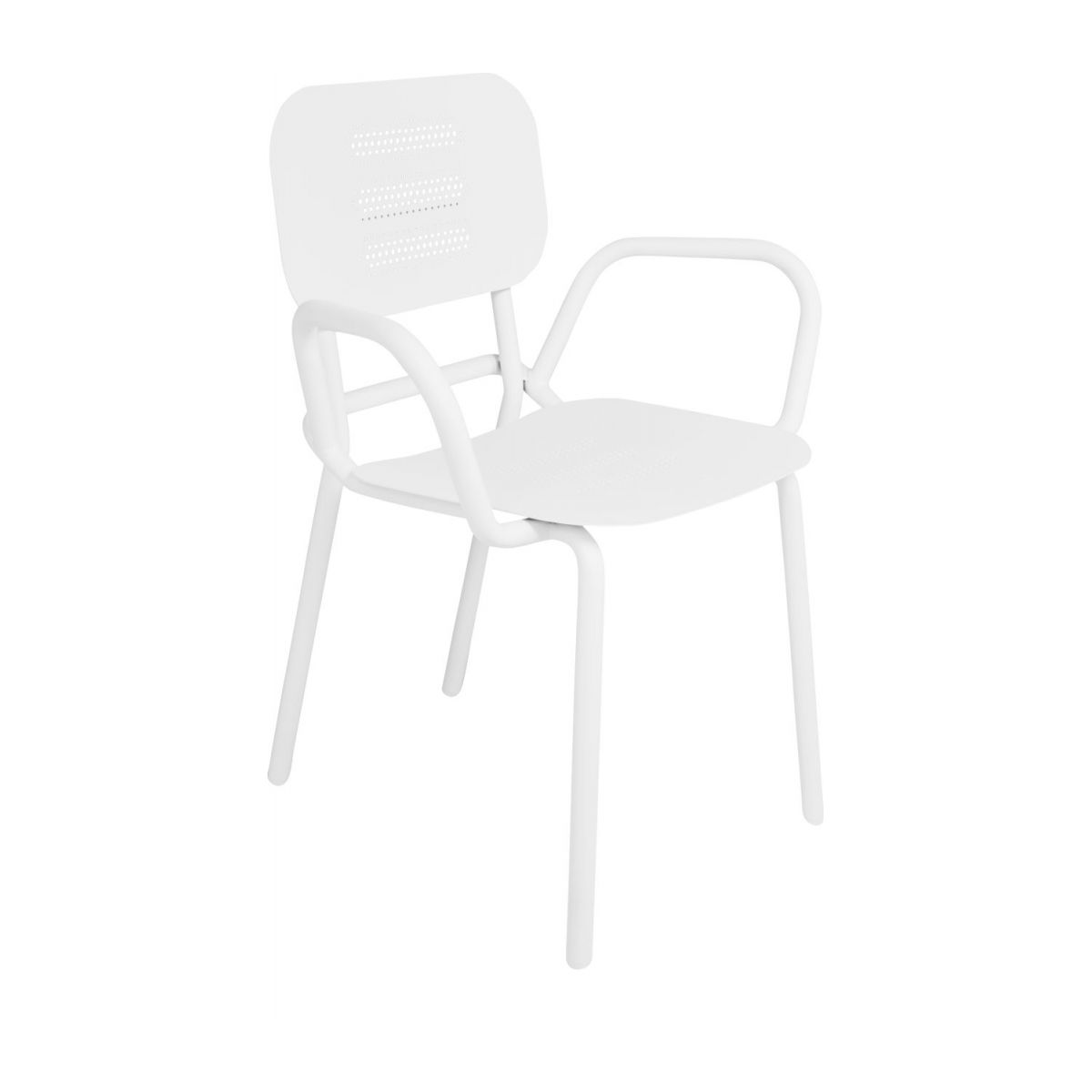 Garden chair with armrests n°1