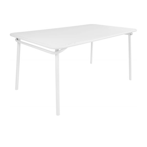 Emejing Table De Jardin Rectangulaire Blanc Contemporary Awesome Interior Home Satellite