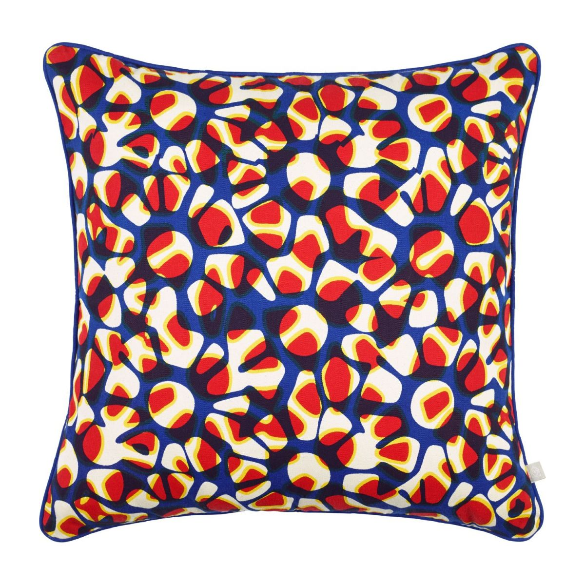 Cushion 45x45, with multicolored patterns n°3