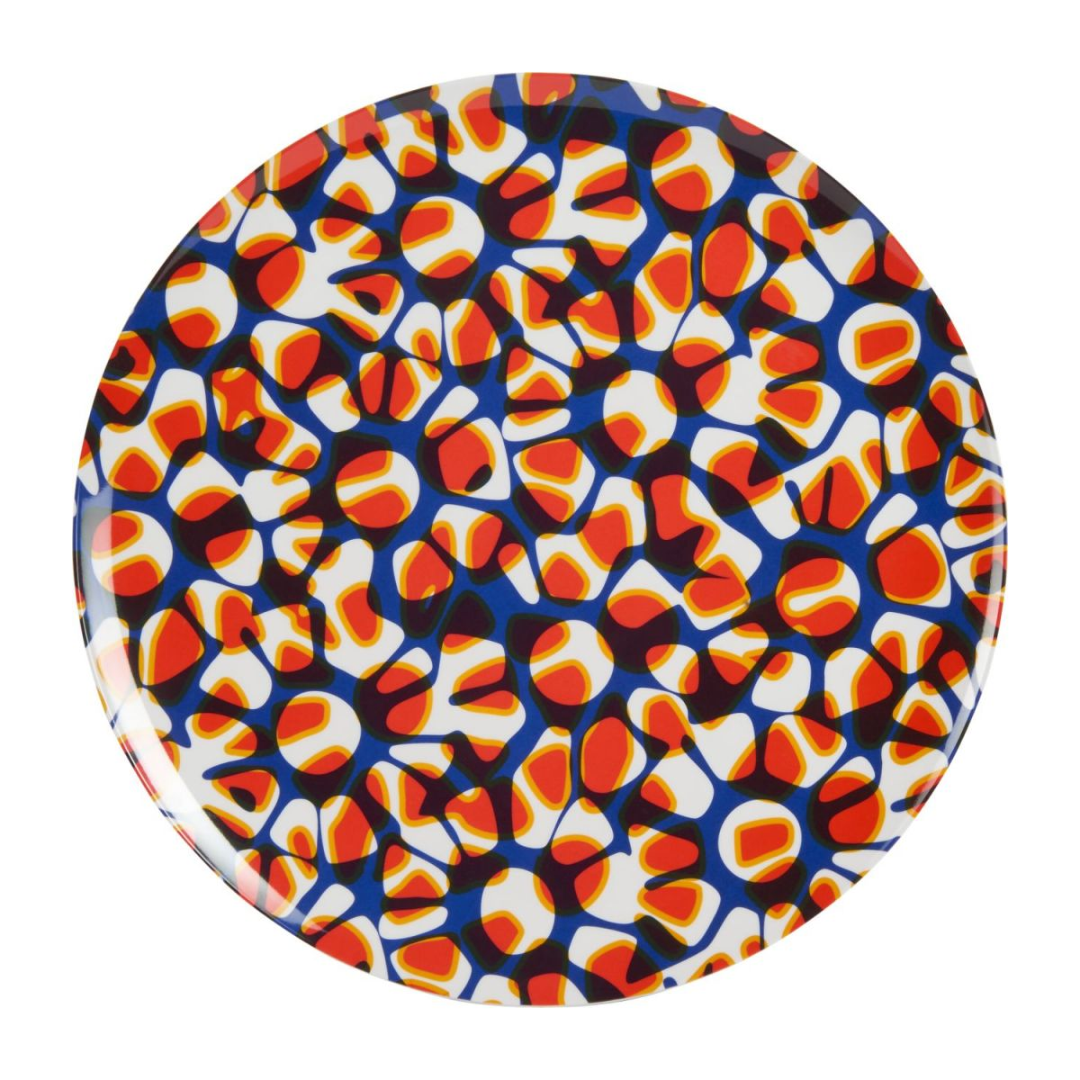 Tray made of melamine 38cm, with patterns n°2