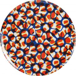 Tray made of melamine 38cm, with patterns