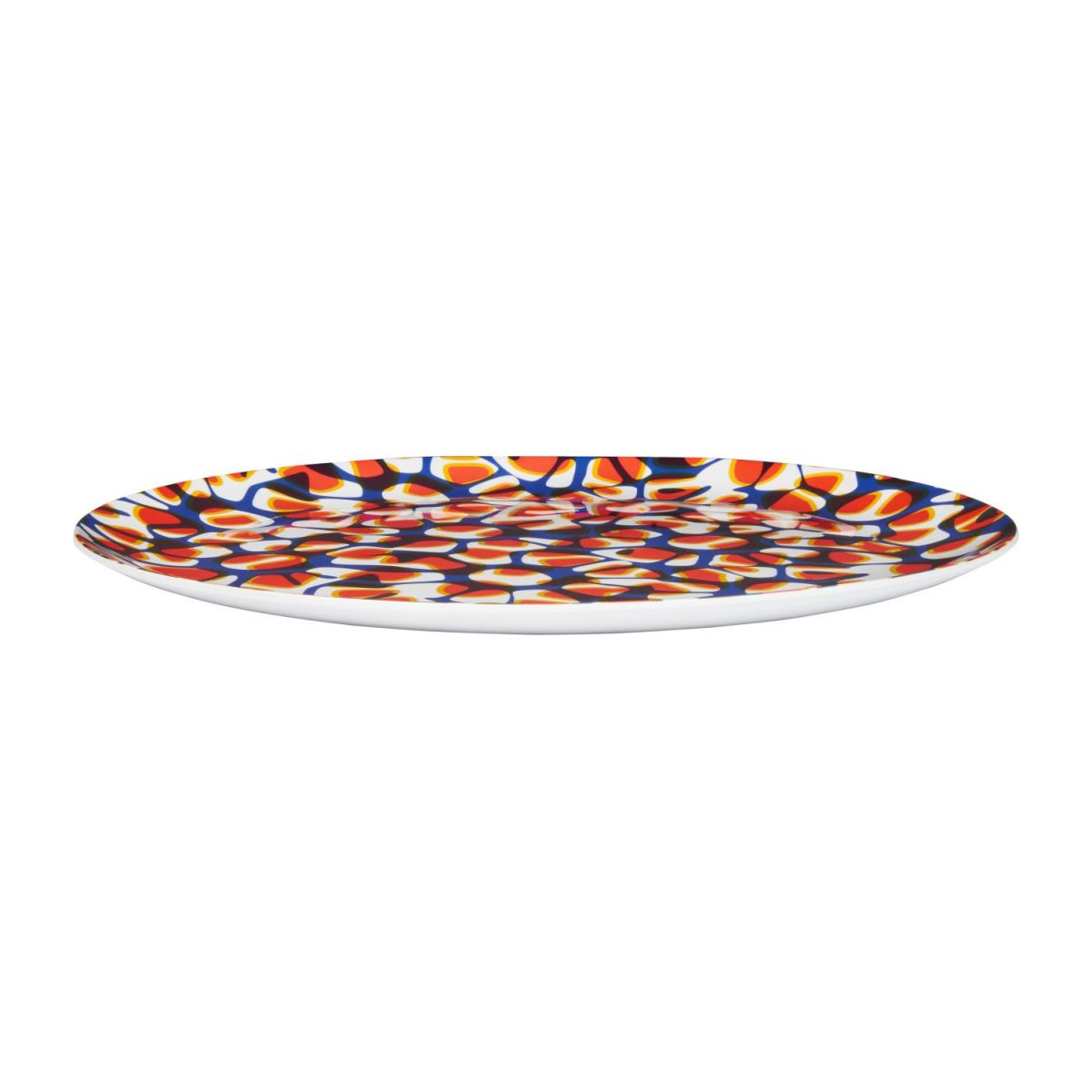 Tray made of melamine 38cm, with patterns n°1