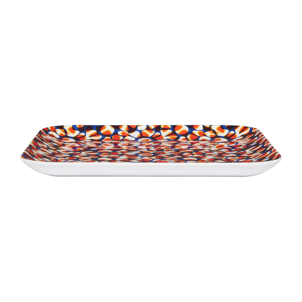 Square tray made of melamine 25x25cm, with patterns n°2