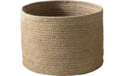 Basket made of jute 22cm