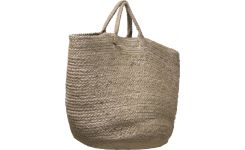 Round basket with handles 35cm
