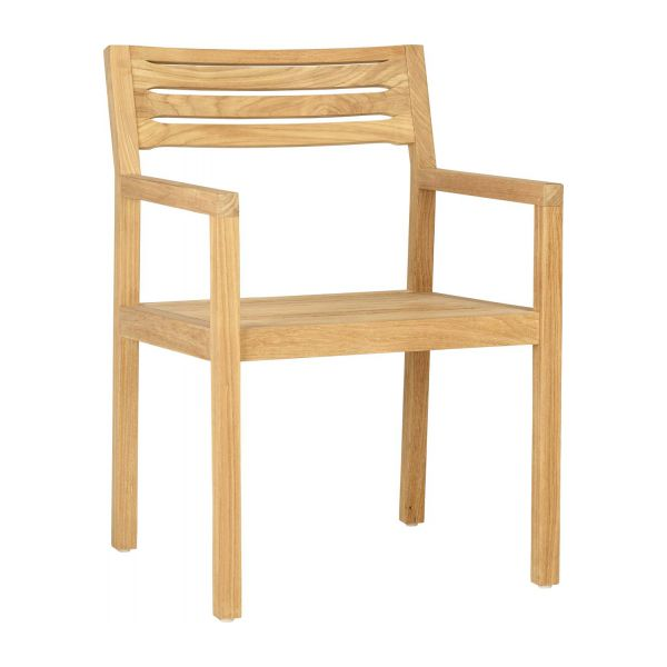 Awesome Teak Garden Armchair N°1