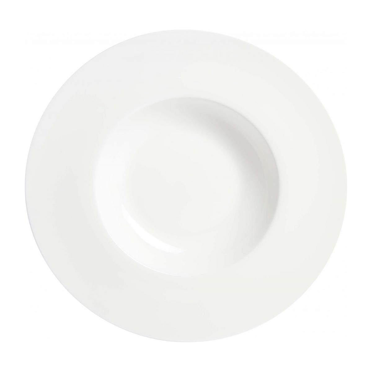 Plate for risotto in porcelain n°1