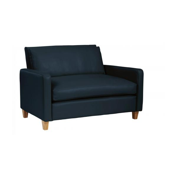 Chester - Compact leather sofa - Habitat
